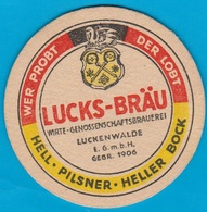 Luckenwalder Spezialitätenbrauerei Luckenwalde( Bd 1642 ) - Beer Mats