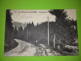 25 CPA Sur La Route Du Lac St Point - Un Beau Coin - Ligne Tacot PM - Edit Robbe N° 15 - France
