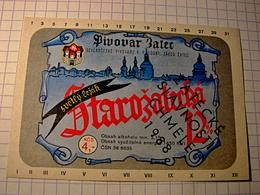 Old Bier, Beer-Etikett /LOUNY-Žatec 12%/beer Festival 1988/CSSR/Czechoslovakia/646 - Beer
