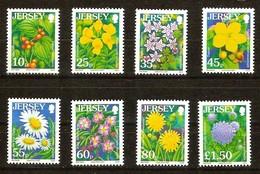 Jersey 2007  Yvertn° 1352-1359 ** MNH Flora Fleurs Bloemen Flowers - Jersey