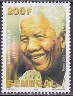 Timbre Oblitéré Sénégal 2014 - Nelson Mandela - Senegal (1960-...)