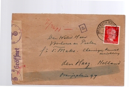 Arbeitseinsatz Herman Van Beek Medebach > Voorhoeve En Peelen P/a Maks Oranjeplein 97 Den Haag (251) - Lettres & Documents