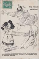 """Bn - Cpa """"Que Je T'aime Petit Soldat De France"""" - Alsace Lorraine - Patriotic"""