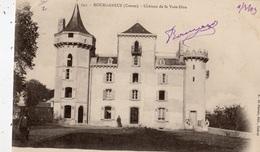 BOURGANEUF CHATEAU DE LA VOIE-DIEU ANIMEE (CARTE PRECURSEUR ) - Bourganeuf