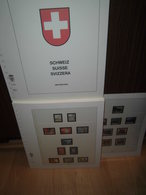 Lindner-T Schweiz Vordruckblätter 1985-2003 Komplett Gute Erhaltung (110) - Albums & Bindwerk