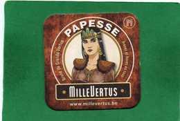 Viltje Millevertus PAPESSE Brune De Grande Vertus - Beer Mats