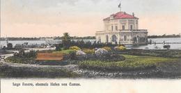 Lago Fusaro - Napoli  1908 - Cartolina Non Comune - Italia