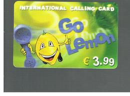 ITALIA (ITALY) - REMOTE -  GO LEMON  3,99 EURO   - USED - RIF. 10947 - Schede GSM, Prepagate & Ricariche