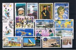 Dschibuti Posten/Lot -  16 Werte Gestempelt - Djibouti (1977-...)