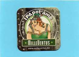 Sous-Bock  Viltje Millevertus India Pale Ale IPAPOT'ÄME état Impeccable - Beer Mats