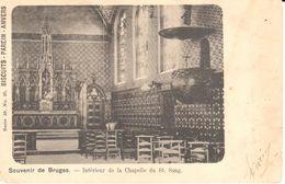 Brugge - Bruges - CPA - Intérieur De La Chapelle Du St Sang - Brugge