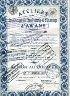 ATELIERS D'AWANS - Construction De Chaudronnerie Et D'Estampage - Industrie