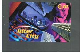 ITALIA (ITALY) - REMOTE -  INTER CITY - VIEW, WOMAN    - USED - RIF. 10950 - Schede GSM, Prepagate & Ricariche