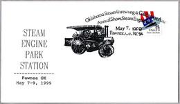 ANNUAL SHOW OKLAHOMA STEAM THRESHING AND GAS ENGINE. Pawnee OK 1999 - Agricultura