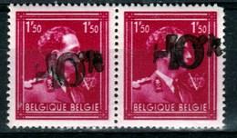 Belgique - Paire Du 1,5 Frs Léopold III COB 724B (641) ** -10% - 1946 -10%