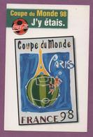 Affiche Officielle De La Ville De Paris - Coupe Du Monde De Football 1998 - Football