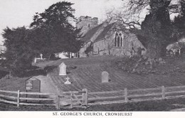 CROWHURST - ST GEORGES CHURCH - Surrey