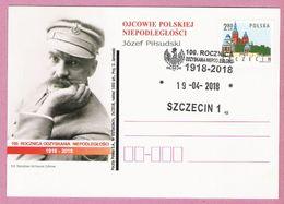 Poland 2018, Szczecin, J.Pilsudski, Badge, Distinction, Army, Militaria, Independence Anniversary, LIMITED EDITION - Militaria