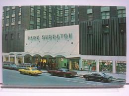 ETATS UNIS - NEW YORK - PARK SHERATON HOTEL - ANIMEE - AUTOMOBILES / CARS - Cafés, Hôtels & Restaurants