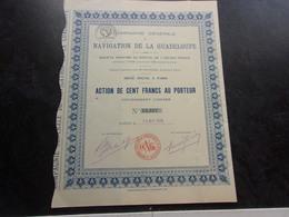 NAVIGATION DE LA GUADELOUPE(1929) - Shareholdings