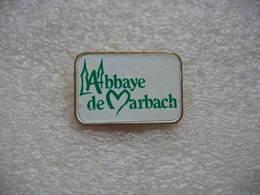 Pin's De L'Abbaye De Marbach Dans La Commune De Vœgtlinshoffen (Dépt 68) - Zonder Classificatie