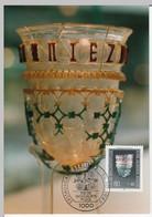 Carte Maximum Card X 4 1986 Germany Berlin Art Glassware Mi 765 - 768 Sc 9NB238 - 241 #22327 - [5] Berlin