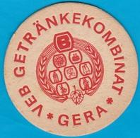 VEB Getränkekombinat Gera ( Bd 1647 ) - Beer Mats