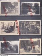 Au Plus Rapide Lot De Photos Voiture Ancienne - Automobiles