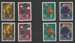 LIECHENSTEIN - Animals - Birds - Turtles - MNH + CTO - Birds