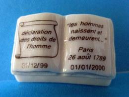 Fève Brillante - Les Droits De L'Homme - Paris 26 Août 1789 - History