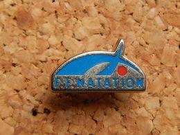 Pin's -  F.F. NATATION - Swimming