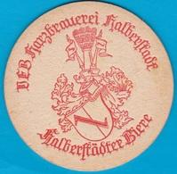 Harzbrauerei Halberstadt ( Bd 1648 ) - Beer Mats