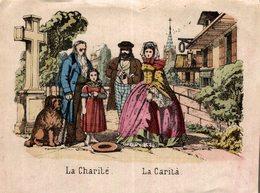 LA CHARITE  LA CARITA - Chromos