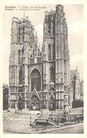 Bruxelles - CPA - Brussel - L'Eglise Sainte Gudule - Bossen, Parken, Tuinen