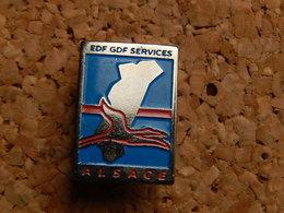 Pin's -  EDF GMF SERVICES - ALSACE - EDF GDF