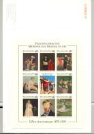 Maldives #2136 Art Music Flowers 1v M/S Of 8 Imperf Chromalin Proof In Folder - Maldives (1965-...)