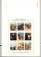 Sierra Leone #1871 Art, Lighthouses, Horse 1v M/S Of 8 Chromalin Proof In Folder - Sierra Leone (1961-...)