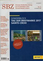 DT200b Un Magazine SBZ Die Post Schweizer Briefmarken Zeitung N°11 Année 2017 TROIS LANGUES SUISSE FRANCAIS ITALIEN - Andere Talen