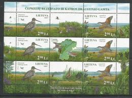 LITHUANIA - 2007 - MNH - Animals - Birds - Birds