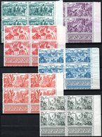 CAMEROUN - YT PA N° 32 à 37 Blocs De 4 Cdf - Neufs ** - MNH - Cote: 57,60 € - Cameroun (1915-1959)