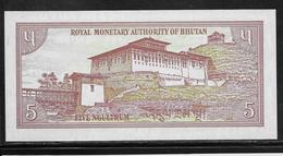 Bhoutan - 5 Ngultrum - Pick N° 13 - NEUF - Bhutan