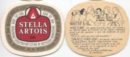 #St427 Stella-viltje (Wist U Dat) - Beer Mats