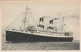 POSTAL DEL BARCO DUILIO (BARCO-SHIP) MEDITERRANEO-SUD AMERICA EXPRESS - Comercio