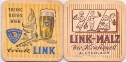 #D178-085 Viltje Link Bier - Beer Mats