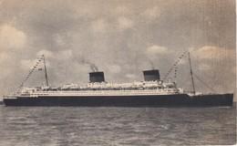 POSTAL DEL BARCO LIBERTE (BARCO-SHIP) LE HAVRE - SOUTHAMPTON - NEW YORK - Comercio