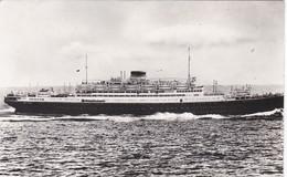 POSTAL DEL BARCO VULCANIA (BARCO-SHIP) COLECCION GALILEA - Comercio