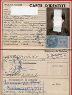 CARTE D'IDENTITE  MAI 1955  CORBIGNY - Sin Clasificación