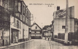 Chatenay Malabry : Grande Rue - Chatenay Malabry