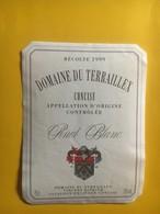 8115 - Domaine Du Terraillex 1999 Concise Pinot Blanc Suisse - Etiquettes