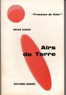 AIRS DE TERRE DE BRIAN ALDISS  PRESENCE DU FUTUR N°81 E.O. 1965 VOIR SCANS - Denoël